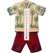 Songbird Essentials Hawaiin Shirt Small Window Thermometer (GC17022)