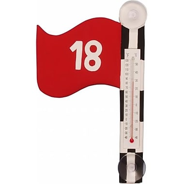 Songbird Essentials Golf Flag Small Window Thermometer