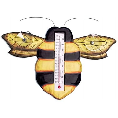 Songbird Essentials Bumblebee Small Window Thermometer
