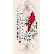 Aspects Cardinal,Dogwood Window Thermometer