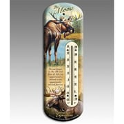 American Expedition Moose Back Porch Thermometer (IDMN614)