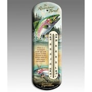 American Expedition Rainbow Trout Back Porch Thermometer (IDMN618)