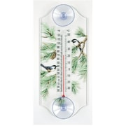 Aspects ASPECTS116 Chickadee and Pine Themed Window Thermometer