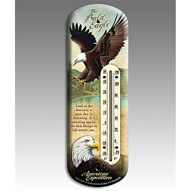 American Expedition Bald Eagle Back Porch Thermometer (IDMN612)
