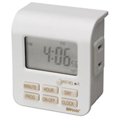Coleman Cable 50008 Indoor Digital Timer (ORGL18340)