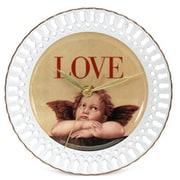 Arjang & Co Love Cupid Porcelain Wall Clock (ARK069)