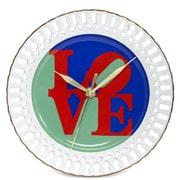 Arjang & Co Robert Indiana Love Porcelain Wall Clock (ARJ070)