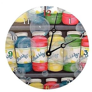 Lexington Studios Bubbles 18in Round Clock (LXNGS203)