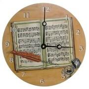 "Lexington Studios Composing 18"" Round Clock (LXNGS212)"