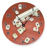 Lexington Studios Mah Jongg 18in Round Clock (LXNGS244)