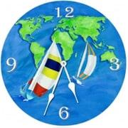 Lexington Studios Summer Sail 18in Round Clock (LXNGS191)