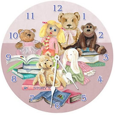 Lexington Studios Story Time 18in Round Clock (LXNGS193)
