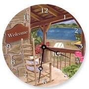 Lexington Studios Lake House Round Clock (23405R)