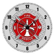 Sigma Impex Fire Dept. Wall Clock (SGPX011)