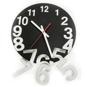 World Friendly World Black Solid Wood Gravity Clock (WRFW015)