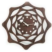 World Friendly World 122042 Esp Webb Solid Wood Clock with Jewel Rhinestones (WRFW024)