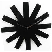 World Friendly World Handmade 19in Laser Etch Black Asterisk Clock (WRFW002)