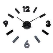 World Friendly World DIY Design It Your Way Black Hash Mark Acrylic Hand-Cut Clock (WRFW065)