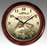 American Expedition Signature Series Clock, Walleye (IDMN700)