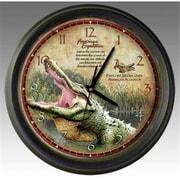 American Expediton Alligator 16in Wall Clock (ID457)