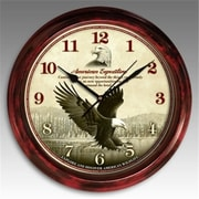 American Expedition Signature Series Bald Eagle Clock (ID590)