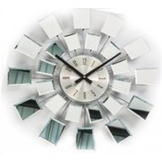 World Friendly World Checker Reflection Mirror Clock (WRFW014)