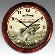 American Expedition SCLK-112 Signature Series Rainbow Trout Clock (ID596)
