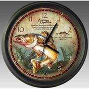 American Expedition Walleye Wall Clock (IDMN716)