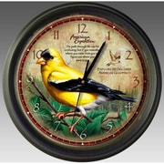 American Expedition Goldfinch Wall Clock (IDMN718)