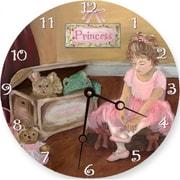 Lexington Studios Pretty in Pink Round Clock (LXNGS239)