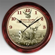American Expedition Signature Series Clock, Mule Deer (ID598)