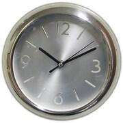 "Ruda Overseas 9"" Stainless Steel Wall Clock (RDOV159)"