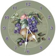 Lexington Studios Fruit 18in Round Clock (LXNGS183)