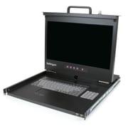 StarTech ® Console ACL à montage sur bâti 1U avec concentrateur USB - Écran de 17 po HD 1080p