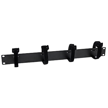 StarTech® Cable Management Panel with Hook and Loop Strips for Server Racks