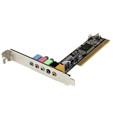 StarTech – Adaptateur de carte son ambiophonique PCI à 5.1 canaux