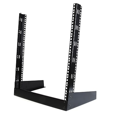 StarTech® 12U 19In Desktop Open Frame 2 Post Rack