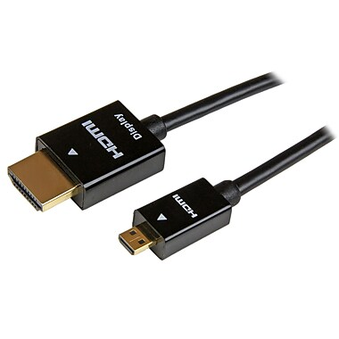 StarTech® 5M (15Ft) Active High Speed HDMI Cable, HDMI to HDMI Micro, M/M
