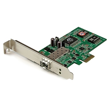 StarTech® PCI Express Gigabit Ethernet Fiber Network Card with Open Sfp, PCIE Sfp Network Card Adapter Nic