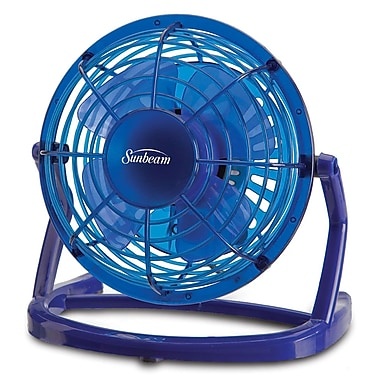 Sunbeam – Ventilateur en plastique USB Cool Me de 4 po