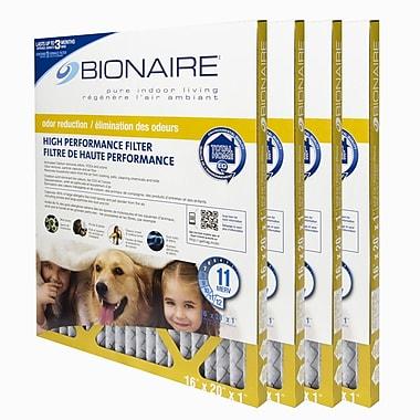Bionaire – Filtres à fournaise contre les odeurs Merv 11, 16 x 20