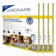 Bionaire® Odour Reduction Merv 11 Furnace Filter, 20X20, 4/Pack