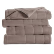 Sunbeam Quilted Fleece Heated Blanket, Twin