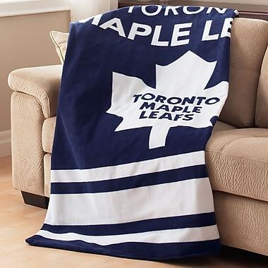 Sunbeam NHL Fleece Heated Throw, Toronto Maple Leafs