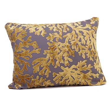Rennie & Rose Design Group St. Tropez Boudoir/Breakfast Pillow; Golden
