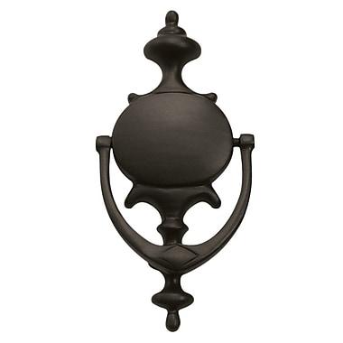 Deltana Imperial design Door Knocker; Polished Brass