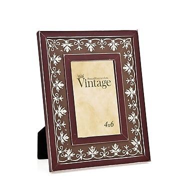 Philip Whitney Leaf and Dimond Picture Frame; Marlot