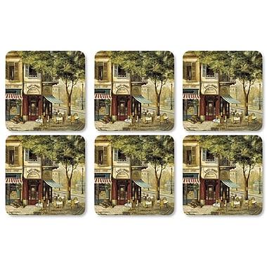 Pimpernel Parisian Scenes Coaster (Set of 6)