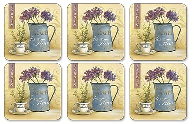 Pimpernel Caf de Fleurs Coaster (Set of 6) WYF078277895861