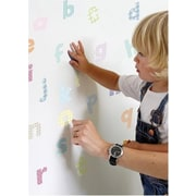 Fun To See Lowercase Pastel Alphabet Nursery and Bedroom Wall Decal